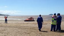 Hovercraft rescue