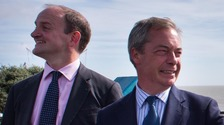 Douglas Carswell MP said it was no secret there were fundamental differences between him and his leader Nigel Farage.