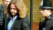 Justin Lee Collins leaves St Albans Crown Court