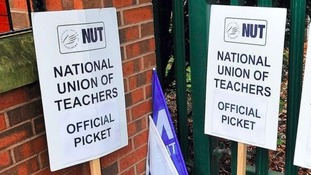 Hundreds of schools closed today due to teachers strike