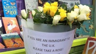 Roses for immigrants