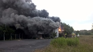 Fire at former Littlefields restaurant in Grimsby