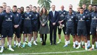 Prince William and Kate Middleton Ashley Cole FA St George&#x27;s Park
