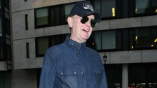 Chris Evans arrives at the BBC to present his radio show.