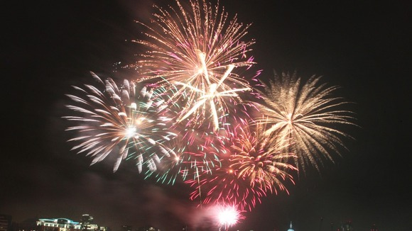 Fireworks across the Midlands region for bonfire night celebrations