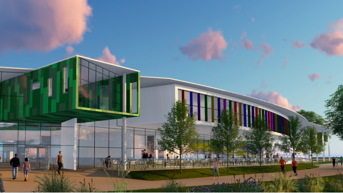 Images Revealed Of New Chelmsford Leisure Centre Anglia Itv News