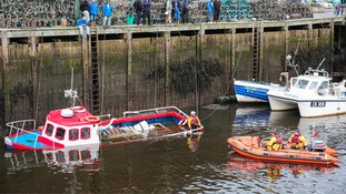 The boat is believed to have sunk overnight