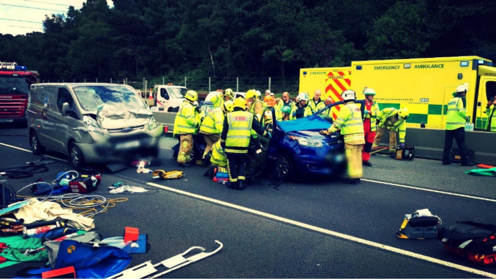 View Park Car Crash