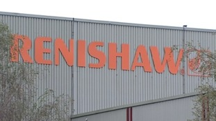 The Renishaw factory at Miskin