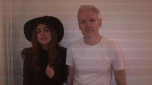 Lady Gaga Julian Assange WikiLeaks
