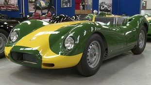 Stirling Moss race car replicas on sale for £1 million