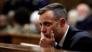 Oscar Pistorius to be sentenced for murdering his girlfriend Reeva Steenkamp
