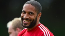 The Wolverhampton-born Wales captain Ashley is looking calm as he prepares for the biggest game of his life.