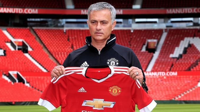 Jose Mourinho did his first news conference as Manchester United manager on Tuesday.