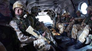 British Marines in Iraq.