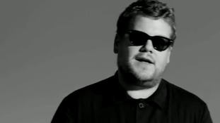 James Corden stars promotes the charity Sightsavers in a new spoof advert.