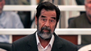 Saddam Hussein was toppled in 2003.