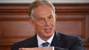 Tony Blair, pictured last month.
