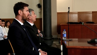 He appeared alongside his father Jorge Horácio Messi at the trial in June.