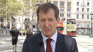 Alastair Campbell spoke to ITV News after the Chilcot report was published.