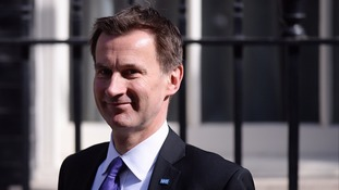 Jeremy Hunt has been involved in a long-running dispute with junior doctors