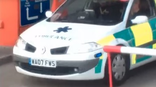 Driver fitted his Renault Megane with lights and sirens to turn it into ambulance