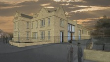 Artist's impression of the new distillery