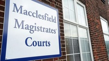 James Ian Ratcliffe was bailed at Macclesfield Magistrates Court