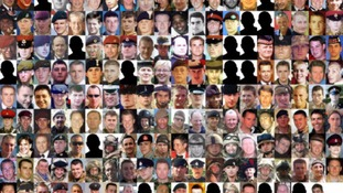 The 179 British soldiers who died in Iraq