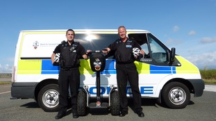 Police in Newquay are to use segways