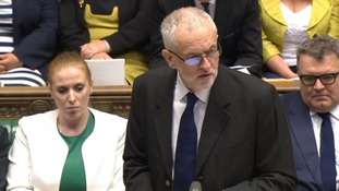 Jeremy Corbyn speaks in the House of Commons following the report's publication.