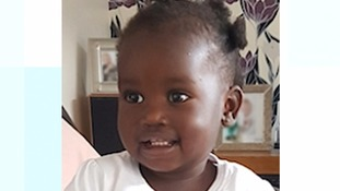 Police search for parents of a toddler abandoned nearly four months ago