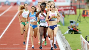 Jo Pavey during the Women's 10,000m Final during day one of the 2016 European Athletic Championships