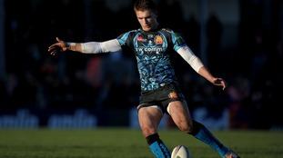 Exeter's Henry Slade during the Heineken Cup, Pool Two match at Sandy Park, Exeter.