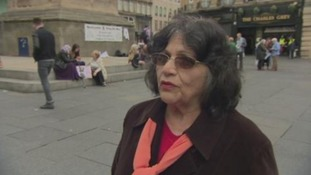 Woman who fled Iraq disagrees with British involvement