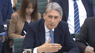 Foreign Secretary Philip Hammond gives evidence to the Foreign Affairs Committee