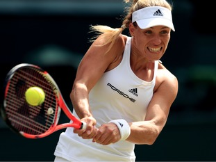 Australian open champion Angelique Kerber has reached her first Wimbledon final.