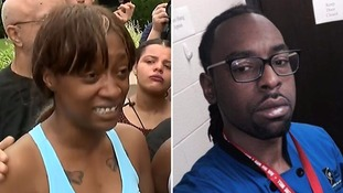 Girlfriend of black man Philando Castile shot by US police said she will 'not sleep until I get justice'