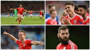 The emerging footballers that became Welsh stars of Euro 2016