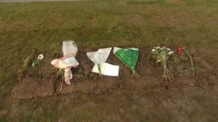 Sir Jimmy Savile's headstone was removed from his grave at midnight.