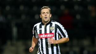 Blair Adams was recently released by Notts County.