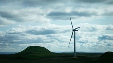 A new wind farm will be built in the Borders.