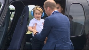 Prince George gets a royal lesson in family business