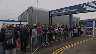 Thousands arrive at Silverstone ahead of British Grand Prix