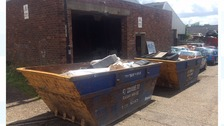 Skips used to dismantle cannabis farm in Newcastle