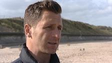 Former Leicester City footballer Darren Eadie