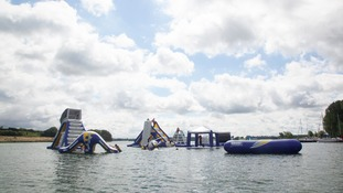 Inflatable 'Aqua Park' set to open on Rutland Water