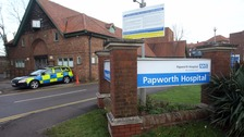 Papworth Hospital in Cambridgeshire