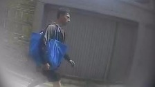 CCTV released after series of random attacks in west London.