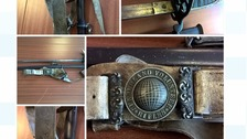 The sword found at Newcastle University